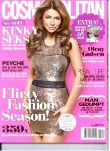 Cover Cosmopolitan maart 2012